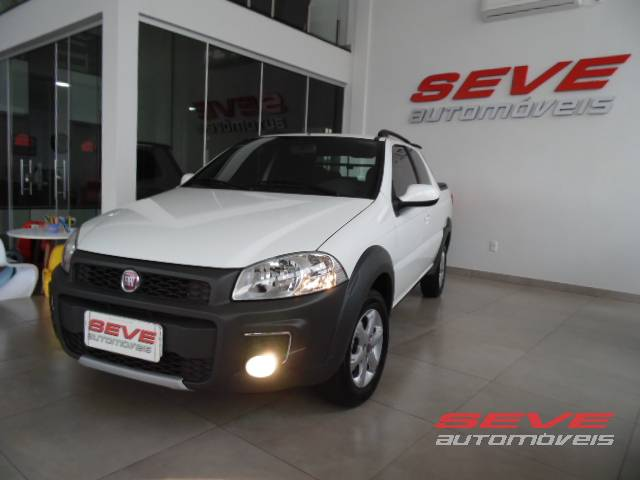 FIAT STRADA HARD WORKING CAB DUPLA 1.4